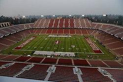PALO ALTO, CA - NOVEMBER 10:  General view of Stanford Stadium before the game between the Stanford Cardinal and the Oregon State Beavers on November 10, 2018 in Palo Alto, California. The Stanford Cardinal defeated the Oregon State Beavers 48-17. (Photo by Jason O. Watson/Getty Images) *** Local Caption ***