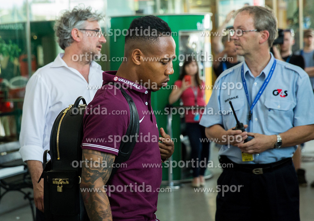 Nathaniel Clyne during arrival of  England National Football team 1 day before EURO 2016 Qualifications match against Slovenia, on June 13, 2015 in Airport Joze Pucnik, Brnik - Ljubljana, Slovenia. Photo by Vid Ponikvar / Sportida