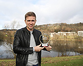 11-02-2015 Greg Stewart - SPFL player of the month for January 2015