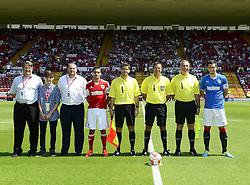- Photo mandatory by-line: Joe Meredith/JMP - Tel: Mobile: 07966 386802 13/07/2013 - SPORT - FOOTBALL - Bristol -  Bristol City v Glasgow Rangers - Pre Season Friendly - Bristol - Ashton Gate Stadium