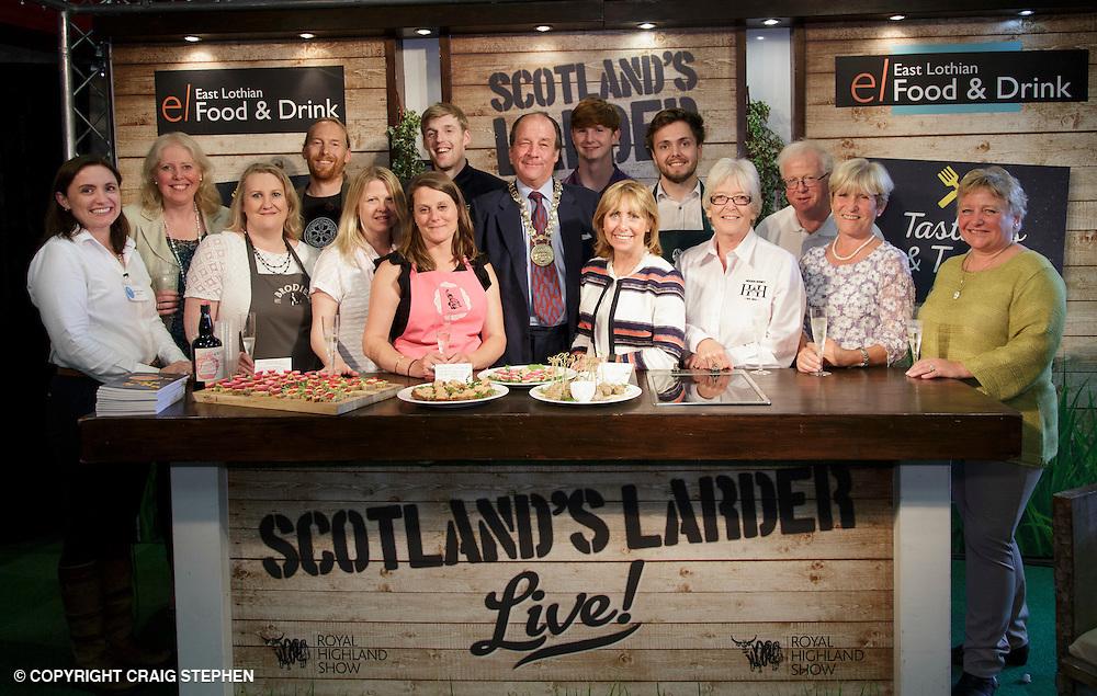 Royal Highland Show 2016, Ingliston, Edinburgh. PAYMENT TO CRAIG STEPHEN - 07905 483532<br /> <br /> East Lothians Larder event photography at the Royal Highland Show, 2016.
