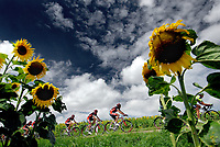 Sykkel <br /> Tour de France 2007<br /> 12.07.2007<br /> Foto: DPPI/Digitalsport<br /> NORWAY ONLY<br /> <br /> STAGE ETAPE RIT 5 : CHABLIS > AUTUN<br /> <br /> ILLUSTRATION PACK