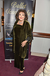 26 January 2020 - 26 January 2020 - Baria Alamuddin (mother of Amal Clooney) at the Ballet Icons Gala at the London Coliseum, St.Martin's Lane, London.<br /> <br /> <br /> Photo by Dominic O'Neill/Desmond O'Neill Features Ltd.  +44(0)1306 731608  www.donfeatures.com