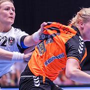 NLD/Den Bosch/20160604 - EK Kwalificatiewedstrijd handbal Nederland - Oostenrijk, ..............