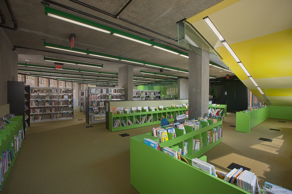 WHL Library interior photo in Washington DC by Jeffrey Sauers of Commercial Photographics