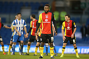 Birmingham City midfielder Jacques Maghoma (19) during the Sky Bet Championship match between Brighton and Hove Albion and Birmingham City at the American Express Community Stadium, Brighton and Hove, England on 28 November 2015.
