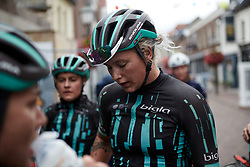 Emma Norsgaard Jorgensen (DEN) after Boels Ladies Tour 2019 - Stage 2, a 113.7 km road race starting and finishing in Gennep, Netherlands on September 5, 2019. Photo by Sean Robinson/velofocus.com