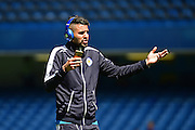 Leicester City Midfielder Riyad Mahrez (26) before the Barclays Premier League match between Chelsea and Leicester City at Stamford Bridge, London, England on 15 May 2016. Photo by Jon Bromley.
