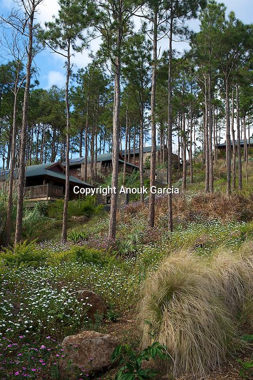New suite of the lodge Lakaz Chamarel with oversea view | Les nouvelles suites du lodge Lakaz Chamarel avec vue sur mer
