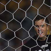Central Coast Mariners goalkeeper Danny Vukovic in action  during the group H group stage match between the Central Coast Mariners of Australia and Pohang Steelers of Korea in Gosford, Australia on March 11 2009, The match ended in a 0-0 draw. Photo Tim Clayton
