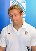 Jonny Wilkinson of England, during an England Press Conference at Southern Cross Hotel in Dunedin, New Zealand. IRB Rugby World Cup 2011. Tuesday 6 September 2011. New Zealand. Photo: Richard Hood/photosport.co.nz