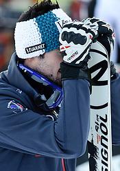 23.01.2011, Hahnenkamm, Kitzbuehel, AUT, FIS World Cup Ski Alpin, Men, Slalom, im Bild // Jean-Baptiste Grange (FRA) // during the men slalom race at the FIS Alpine skiing World cup in Kitzbuehel, EXPA Pictures © 2011, PhotoCredit: EXPA/ S. Zangrando