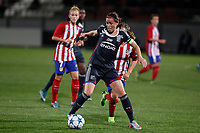 Olympique Lyonnais´s player during UEFA Women´s Champions League soccer match between Atletico de Madrid and Olympique Lyonnais, in Madrid, Spain. November 11, 2015. (ALTERPHOTOS/Victor Blanco)