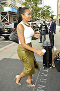 Sept. 10, 2014 - New York City, NY, United States - <br /> <br /> .Mel B arrives at a downtown hotel on September 10 2014 in New York City<br /> ©Exclusivepix