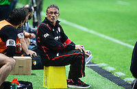 Guy NOVES - 24.04.2015 - Stade Francais / Stade Toulousain - 23eme journee de Top 14<br />Photo : Dave Winter / Icon Sport