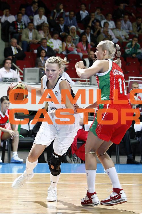DESCRIZIONE : Riga Latvia Lettonia Eurobasket Women 2009 Quarter Final Slovacchia Bielorussia Slovak Republic Belarus<br /> GIOCATORE : Romana Vynuchalova<br /> SQUADRA : Slovacchia Slovak Republic<br /> EVENTO : Eurobasket Women 2009 Campionati Europei Donne 2009 <br /> GARA : Slovacchia Bielorussia Slovak Republic Belarus<br /> DATA : 17/06/2009 <br /> CATEGORIA : palleggio<br /> SPORT : Pallacanestro <br /> AUTORE : Agenzia Ciamillo-Castoria/E.Castoria