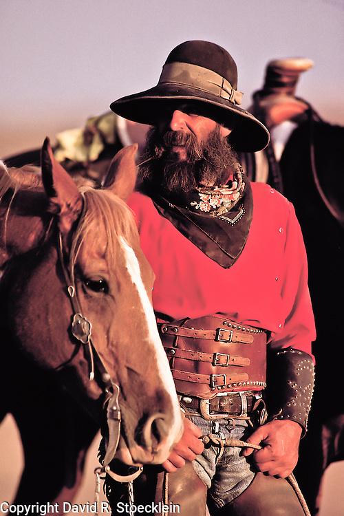 &ldquo;Buckaroo&rdquo; <br /> Raymond Jayo<br /> New Plymouth, Idaho, 1977<br /> Idaho Cowboy, book                                                30 x 40
