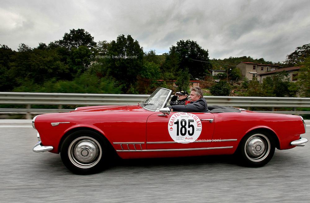 GP TAZIO NUVOLARI 2012. ALFA ROMEO 2000 TOURING SPIDER 1959