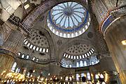 Turkije, Istanbul, 4-6-2011De Blauwe moskee, moskee van sultanahmet. Istanbul, vroegere hoofdstad van het Ottomaanse rijk.Foto: Flip Franssen
