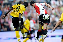 27-04-2008 VOETBAL: KNVB BEKERFINALE FEYENOORD - RODA JC: ROTTERDAM <br /> Feyenoord wint de KNVB beker - Roy Makaay en Cheikh Tiote<br /> ©2008-WWW.FOTOHOOGENDOORN.NL