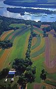 Farmland and Susquehanna River, Perry Co. PA