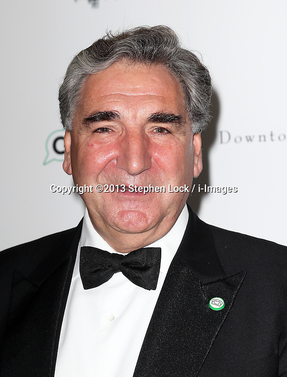 Jim Carter arriving at the Downton Abbey ChildLine Ball in London, Thursday, 24th October 2013. Picture by Stephen Lock / i-Images