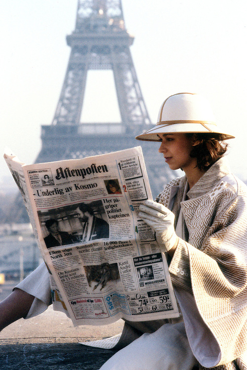 Charlotte Trym, Paris 1992