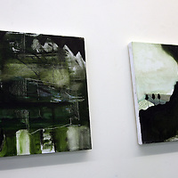Laura Brennan - Strata and Memory,<br /><br /><br /><br />Photograph by Yvonne Vaughan.