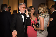 PATRICK COX; ELIZABETH HURLEY, The Neo Romantic Art Gala in aid of the NSPCC. Masterpiece. Chelsea. London.  30 June 2015