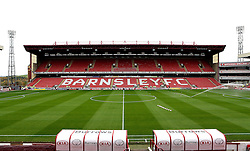A general view of Oakwell, home of Barnsley - Mandatory by-line: Robbie Stephenson/JMP - 29/10/2016 - FOOTBALL - Oakwell Stadium - Barnsley, England - Barnsley v Bristol City - Sky Bet Championship
