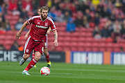 Adam Clayton (Middlesbrough FC) during the Sky Bet Championship match between Middlesbrough and Milton Keynes Dons at the Riverside Stadium, Middlesbrough, England on 12 September 2015. Photo by George Ledger.