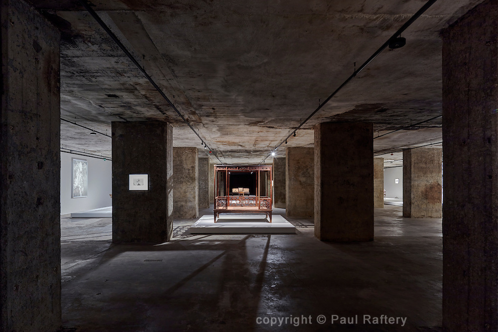 The Feuerle Collection housed in a Berlin wartime bunker. Architect John Pawson