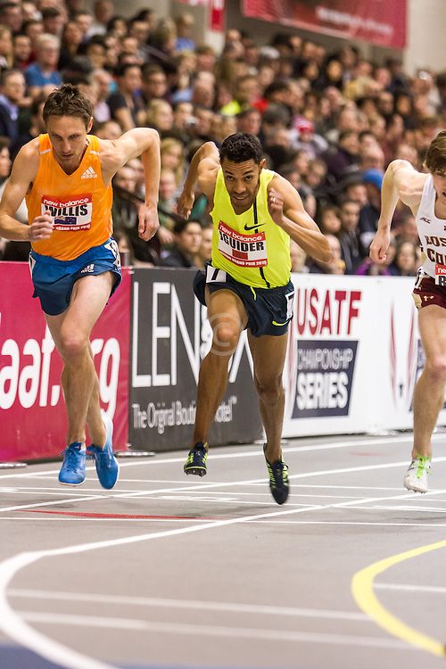 New Balance Indoor Grand Prix Track & FIeld:  men's Mile, Willis, Iguider