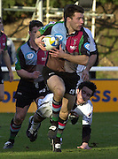 Parker Pen Challenge Cup 14/01/2004 Harlequins v Brive.1st leg...Quins's Chris Bell   [Mandatory Credit, Peter Spurrier/ Intersport Images].