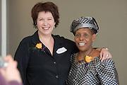 Baker Center Dedication..Women's Center...Judith Grant, Beatrice Selotlegeng