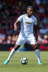 Luis Antonio Valencia of Manchester United in action - Rogan Thomson/JMP - 14/08/2016 - FOOTBALL - Vitality Stadium - Bournemouth, England - Bournemouth v Manchester United - Premier League Opening Weekend.