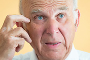 Vince Cable MP,  leader of the Liberal Democrats makes a keynote speech outlining his approach to solving the housing crisis at The Royal Institute of British Architects, London, Great Britain on 26th June 2018. <br />  <br /> Vince Cable MP <br /> <br /> Photograph by Elliott Franks