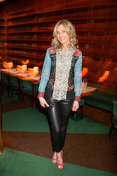 KIM HERSOV at a dinner hosted by Roger Vivier to celebrate The Prismick Denim by Camillle Seydoux held at Casa Cruz, 123 Clarendon Road, London on 17th March 2016.
