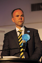 © Licensed to London News Pictures. 08/05/2015. Croydon, UK. Gavin Barwell MP for Croydon North at the local election results Fairfield Halls Croydon Photo credit: Presspics/LNP