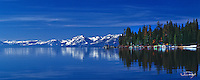 Lake Tahoe Scenic Panorama Reflections