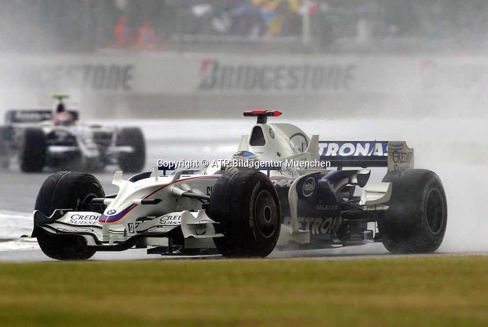 Nick HEIDFELD - BMW-Sauber F1. Formula 1, British GP, Silverstone, England. 6 july 2008. Photo: ATP/PHOTOSPORT