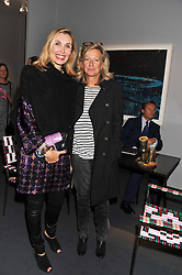 Left to right, ALLEGRA HICKS and PRINCESS CHANTAL OF HANOVER at a 2nd private view of the Pavilion of Art & Design London 2011 held in Berkeley Square, London on 11th October 2011.