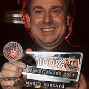 NLD/Amsterdam/20150203 - Uitreiking 100% NL Awards 2015, Marco Borsato krijgt de Ouvre Award