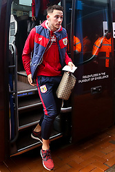 Josh Brownhill of Bristol City arrives at Ewood Park for the Sky Bet Championship fixture against Blackburn Rovers - Mandatory by-line: Robbie Stephenson/JMP - 09/02/2019 - FOOTBALL - Ewood Park - Blackburn, England - Blackburn Rovers v Bristol City - Sky Bet Championship