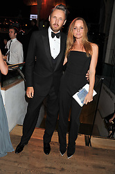STELLA McCARTNEY and ALASDHAIR WILLIS at the GQ Men of The Year Awards 2012 held at The Royal Opera House, London on 4th September 2012.