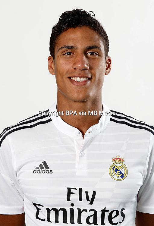 Spain - La Liga BBVA  2014-2015 / <br /> ( Real Madrid CF ) - <br /> Rapha&euml;l Varane