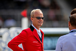 BRUYNSEELS Niels (BEL)<br /> Rotterdam - Europameisterschaft Dressur, Springen und Para-Dressur 2019<br /> Parcoursbesichtigung<br /> Longines FEI Jumping European Championship - 1st part - speed competition against the clock<br /> 1. Runde Zeitspringen<br /> 21. August 2019<br /> © www.sportfotos-lafrentz.de/Stefan Lafrentz