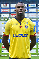 Marcus Thuram Ulien of Sochaux during the FC Sochaux photocall for the season 2016/2017 in Sochaux on September 20th 2016<br /> Photo : Philippe Le Brech / Icon Sport
