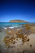 Cala Conta beach (Platges de Comte and Cala Compte) in Ibiza, Balearic Islands, Spain
