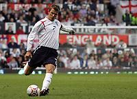 Photo: Paul Thomas.<br /> England v Hungary. International Friendly. 30/05/2006.<br /> <br /> David Beckham of England.